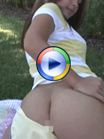Kari Sweets Backyard Tease