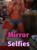 Kari Sweets is taking daring mirror self pics